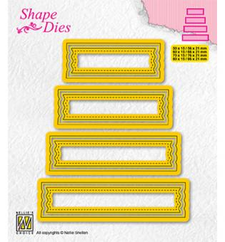 Nellies Choice Multi Frame Die - Set of 4 tags-2