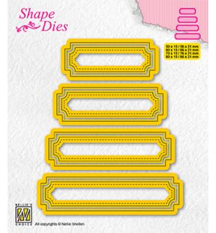 Nellies Choice Multi Frame Die - Set of 4 tags-5