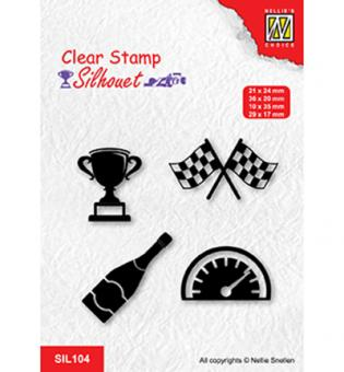 Nellie`s Choice Clearstamp - Formula one serie: 3