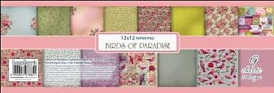 Paper Collection Set Birds of Paradis
