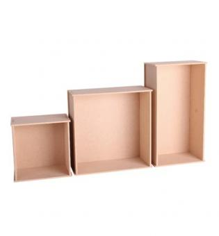 Set Wall Decoration Boxes 3 sizes