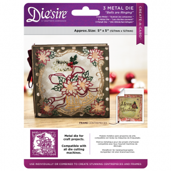 "Die sire 5"" x 5"" Create a Card - Bells are Ringing"