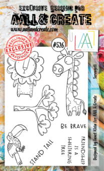 AALL and Create - A6 Stamp 526