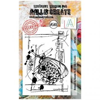AALL and Create - A7 Stamp #548