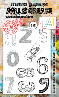AALL and Create - Stamp Set # 68