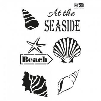 Stencil - At the seaside
