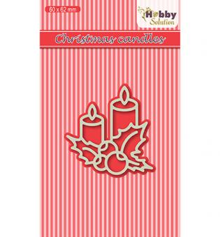Nellies Choice Hobby Solutions Dies - Christmas Candles