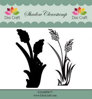 Dixi Shadow Clear Stamp flower 2