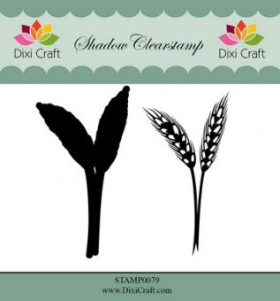 Dixi Shadow Clear Stamp flower 4