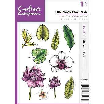 Crafter's Companion - Tropical Florals