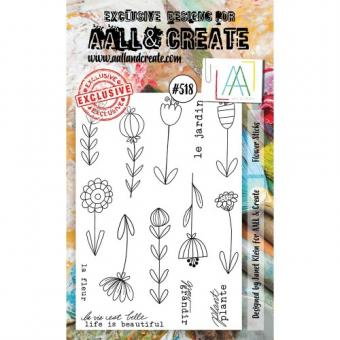 AALL and Create - A6 Stamp 518