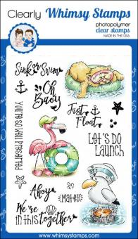 Whimsy Stamps - Ahoy, Matey!