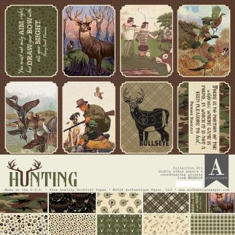 Authentique Hunting 12x12 Inch Collection Kit