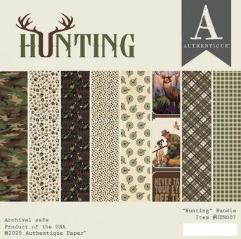 Authentique Hunting 6x6 Inch Paper Pad