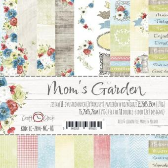 "Paper Collection Set 6""*6"" Mom's Garden"