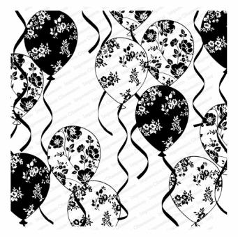 Cover-a-Card - Floral Balloons
