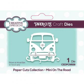Creative Expressions Paper Cuts Mini On The Road Craft Die