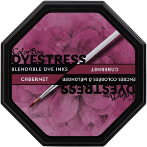 Clearsnap ColorBox Dyestress Blendable Dye Ink Full Size  - Cabernet