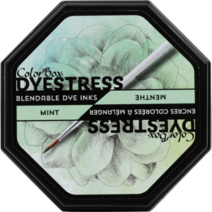 Clearsnap ColorBox Dyestress Blendable Dye Ink Full Size  - Mint