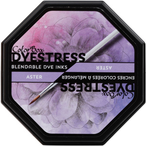 Clearsnap ColorBox Dyestress Blendable Dye Ink Full Size  - Aster