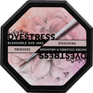 Clearsnap ColorBox Dyestress Blendable Dye Ink Full Size  - Princess