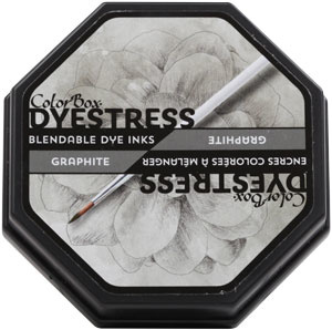 Clearsnap ColorBox Dyestress Blendable Dye Ink Full Size  - Graphite