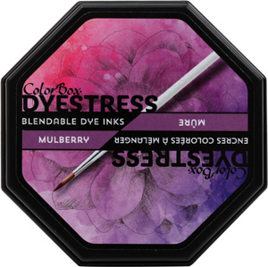 Clearsnap ColorBox Dyestress Blendable Dye Ink Full Size  - Mulberry