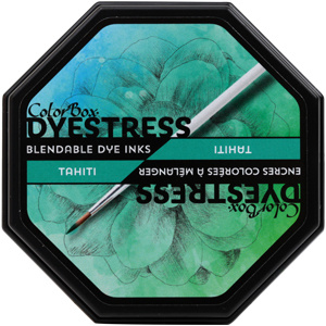 Clearsnap ColorBox Dyestress Blendable Dye Ink Full Size  - Tahiti
