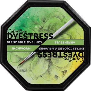 Clearsnap ColorBox Dyestress Blendable Dye Ink Full Size  - Inchworm