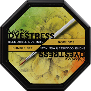 Clearsnap ColorBox Dyestress Blendable Dye Ink Full Size  - Bumble Bee