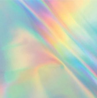 Couture Creations Heat Activated FoilFoil Silver Iridescent Finish