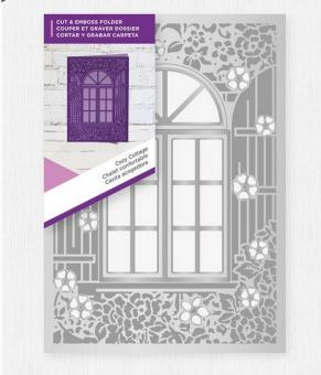 Gemini Cut and Emboss Folder - Cosy Cottage