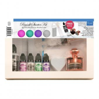 Couture Creations Peacock Alcohol Ink Starter Kit