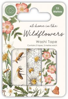 Craft Consortium At Home in the Wildflowers Washi Tape