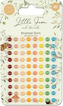 Craft Consortium Little Fawn & Friends Adhesive Enamel Dots