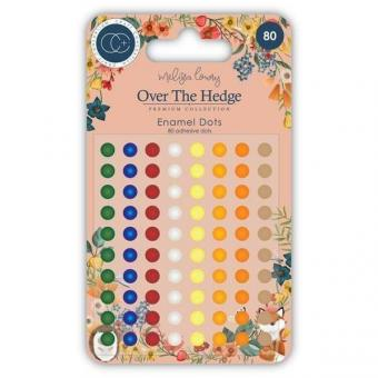 Craft Consortium Over The Hedge Adhesive Enamel Dots