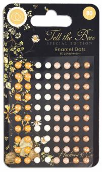 Craft Consortium Tell the Bees Special Edition Adhesive Enamel Dots