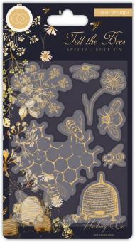 Craft Consortium Tell the Bees Special Edition Animals Clear Stamps