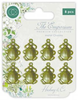 Craft Consortium The Emporium Metal Charms Beetles
