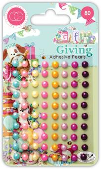 Craft Consortium The Gift of Giving Adhesive Pearls