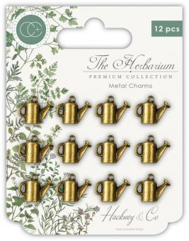 Craft Consortium The Herbarium Watering Can Metal Charms