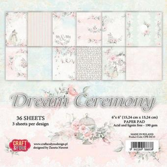 Craft&You Dream Ceremony Small Paper Pad 6x6