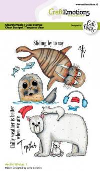 CraftEmotions clearstamps A6 - Arctic Winter 1