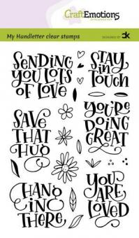 CraftEmotions-Sending you lots of love