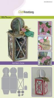 CraftEmotions Die - lantern box Card A5 box
