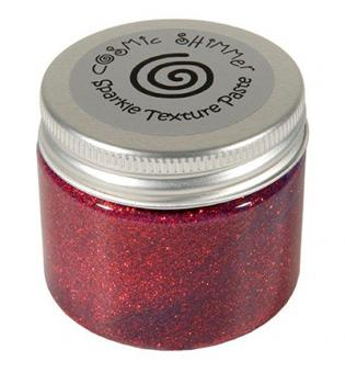 Sparkle Texture Paste - Apple Red