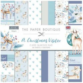 The Paper Boutique A Christmas Visitor 12x12 Paper Pad