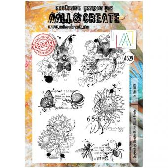 AALL and Create - A4 Stamp 529