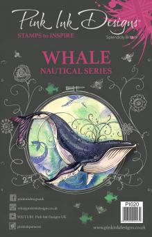 Pink Ink Designs - Whale