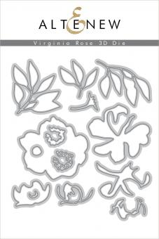 Altenew - Virginia Rose 3D Die Set